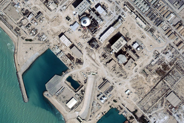 Busher Reactor - Iran 2004 - Digital Globe Quickbird 2