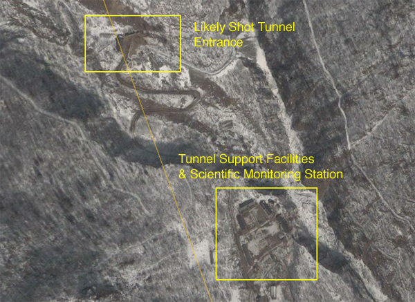 North Korean Shot Tunnel