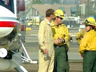 Heroics saved firefighters in SoCal fire
