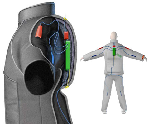Rescue Tech – Smart Suit Gives First Responder Geopositioning