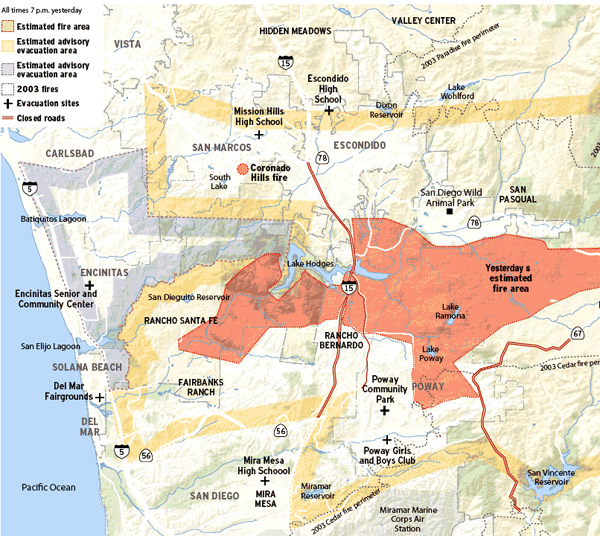 Fire In San Diego Today >> Witch Creek Fire – Day 2 : And Still I Persist…