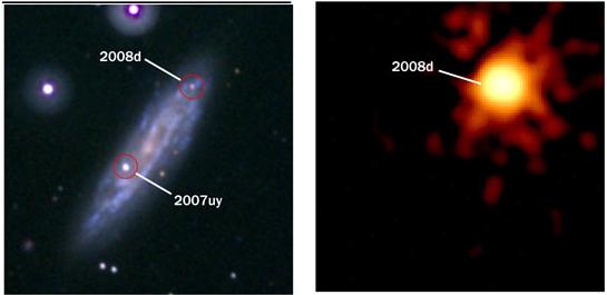 Supernova Rare Find Advances Stellar Science