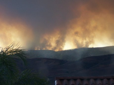 Fire Season Returns – Camp Pendleton Blaze