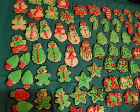 Christmas Cookie Blogging