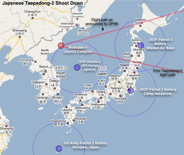 Taepodong-2 Update: The Possible Japanese Intercept