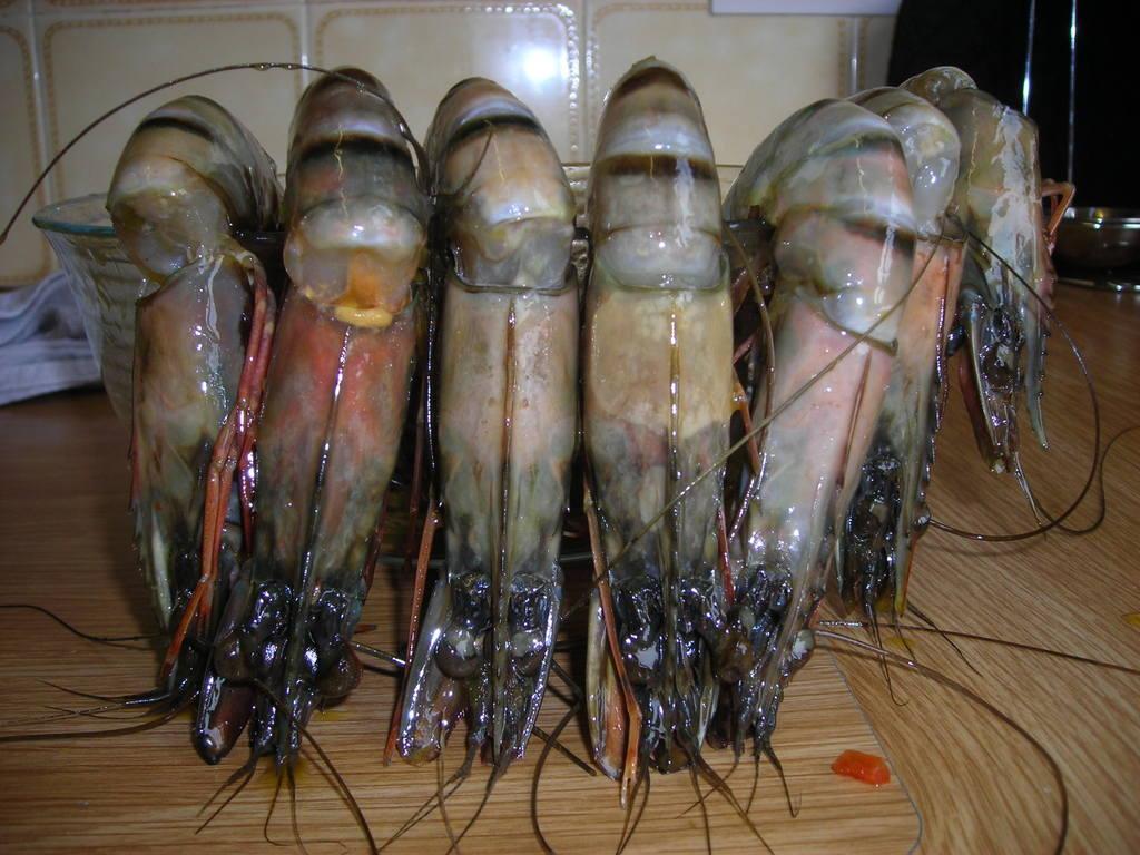 Wednesday prawns