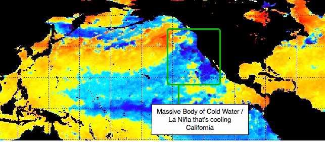 San Diego's Cold Summer – Massive La Niña