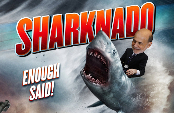 The Atlantic: How Sharknado Explains the Federal Reserve