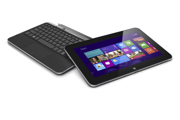 Dell drops keyboardless Windows RT tablet