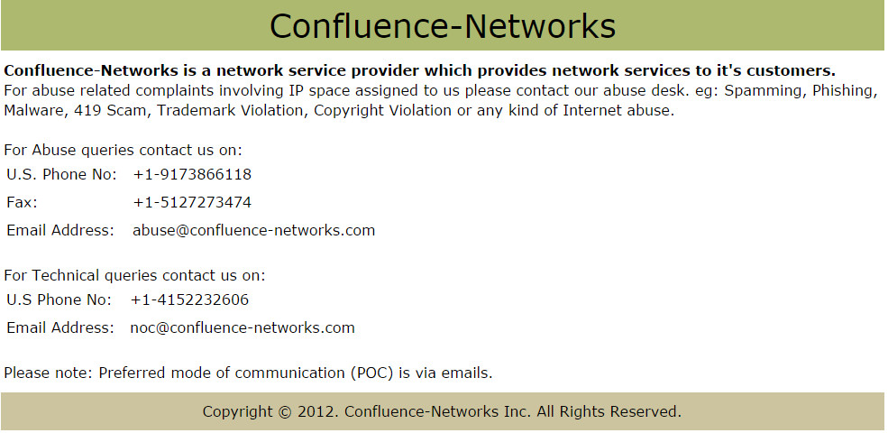 ConfluenceNetworks
