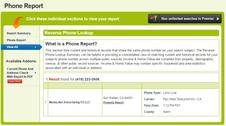 PhoneReport
