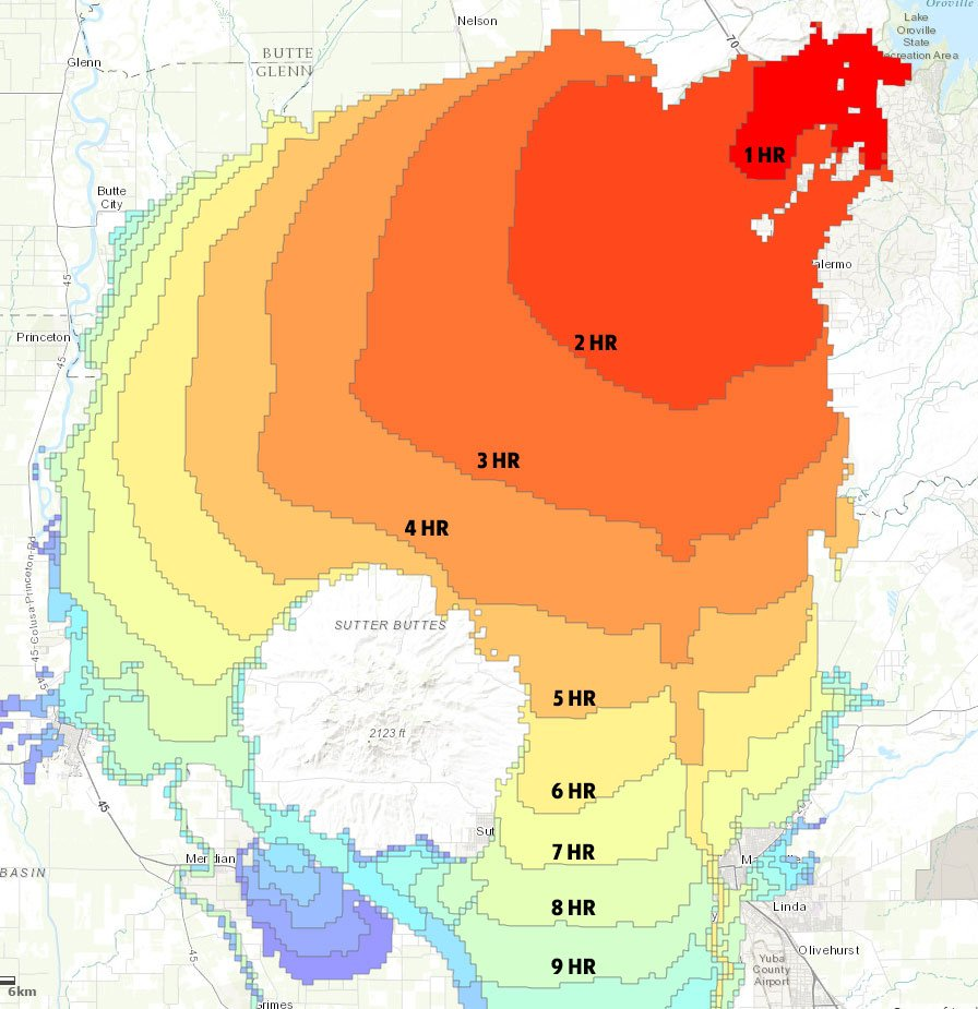 Infographics On Possible Oroville Dam Failure : And Still I Persist…
